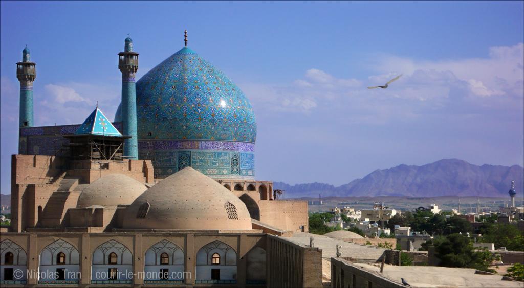 Dôme de la mosquée du Shah, Ispahan