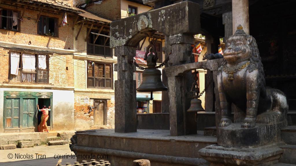 Temple de Machendranath le Rouge, 17è S, Bungamati au Népal