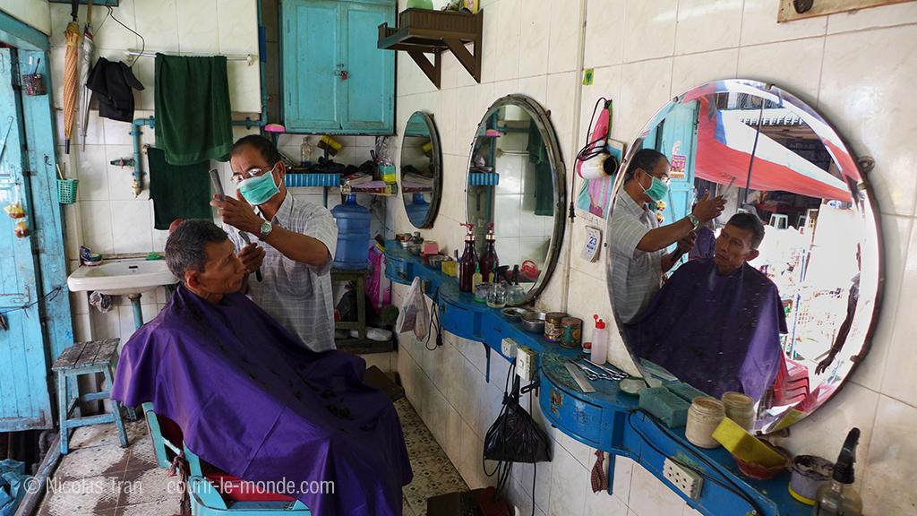 Yangon - coiffeur