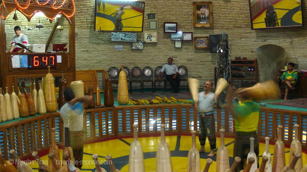 Varzesh-e Pahlavani, le sport national iranien