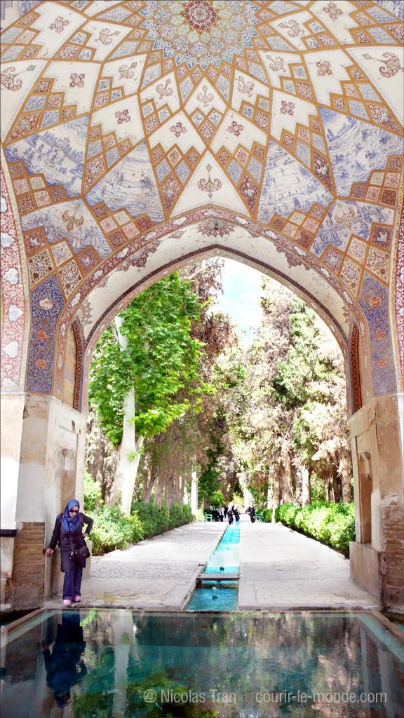 Jardin près de Téhéran, Iran