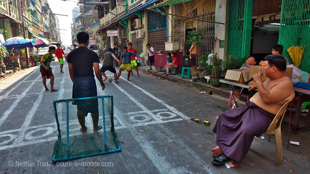 Yangon jour de l'indépendance