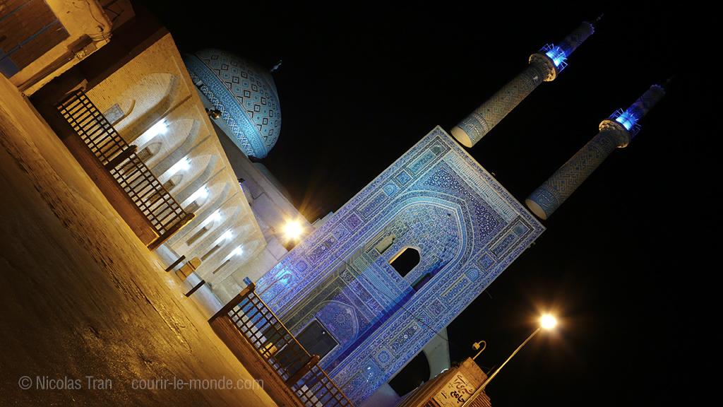 Yazd la nuit, Iran